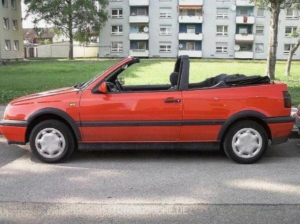 VW GOLF III Cabriolet (1E7) 04-1994 von schmucki - Bild 194059