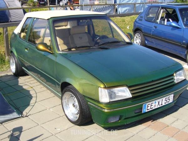 Peugeot 205 I Cabriolet (741B, 20D) 01-1994 von 205blau - Bild 195900