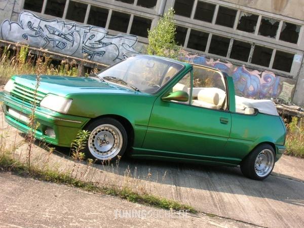 Peugeot 205 I Cabriolet (741B, 20D) 01-1994 von 205blau - Bild 324579
