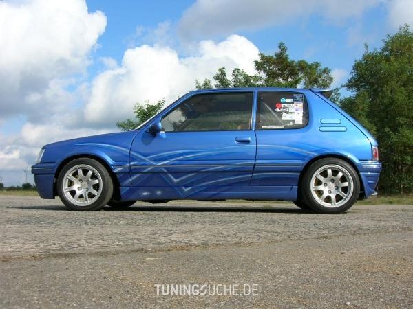 Peugeot 205 I Cabriolet (741B, 20D) 01-1994 von 205blau - Bild 330653