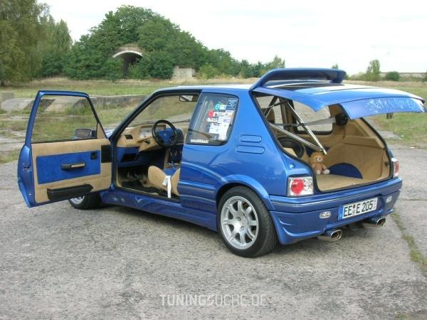 Peugeot 205 I Cabriolet (741B, 20D) 01-1994 von 205blau - Bild 330654
