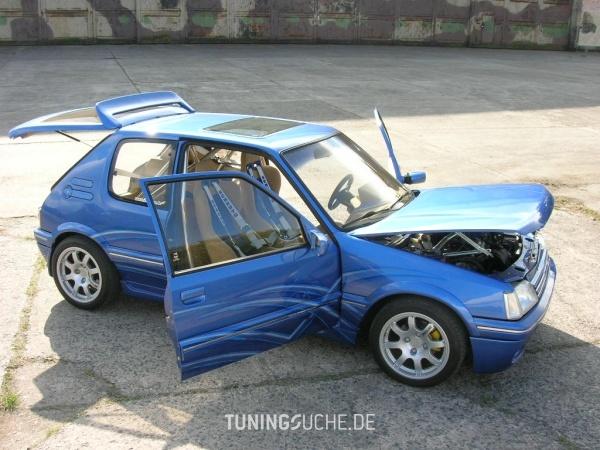 Peugeot 205 I Cabriolet (741B, 20D) 01-1994 von 205blau - Bild 330656