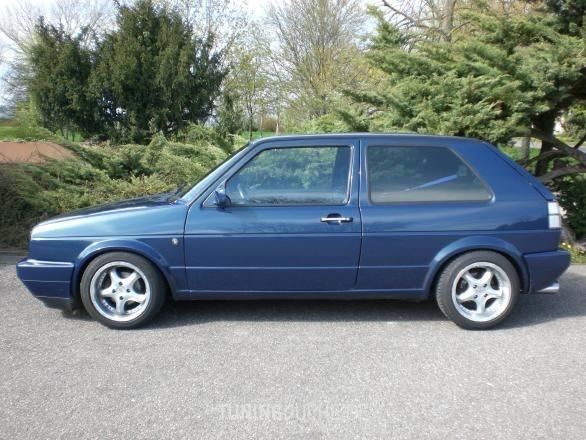 VW GOLF II (19E, 1G1) 12-1990 von TUNINGFREAK - Bild 349308