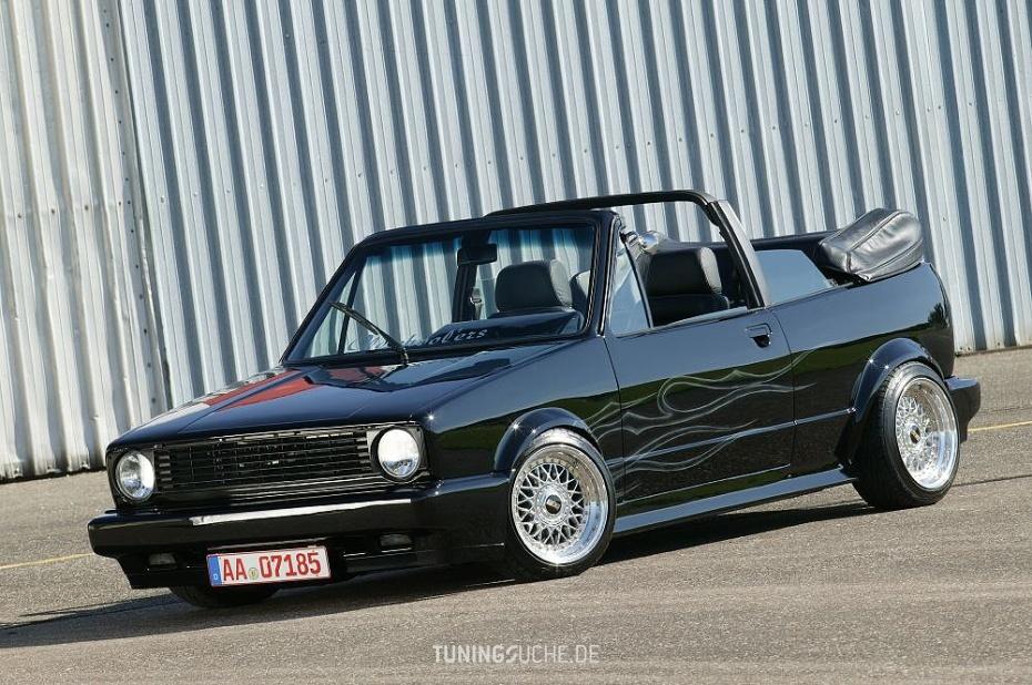 VW GOLF I Cabriolet (155) 1.5 Typ 155 (Einser) Bild 31429