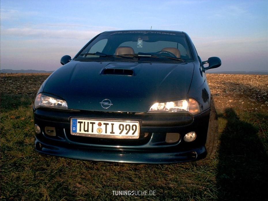 Opel TIGRA (95) 1.4 16V urspr. Colorline tobacco, jetzt 2.0L 16V Bild 472382