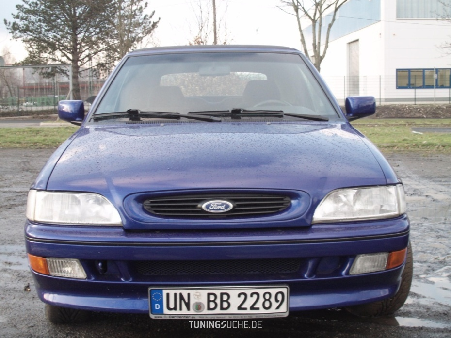 Ford ESCORT V Cabriolet (ALL) 1.8 16V XR3i XR3i Michael Schuhmacher Edition Bild 487435