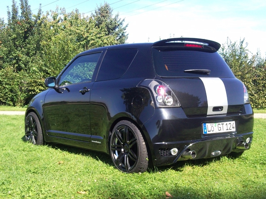 suzuki swift iii 1 5 sport 1 6 liter bj 2007 von. Black Bedroom Furniture Sets. Home Design Ideas