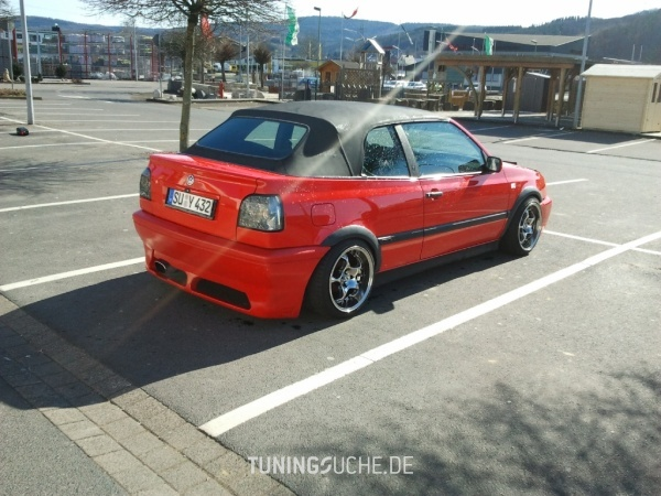 VW GOLF III Cabriolet (1E7) 07-1994 von Gtisasch - Bild 579997