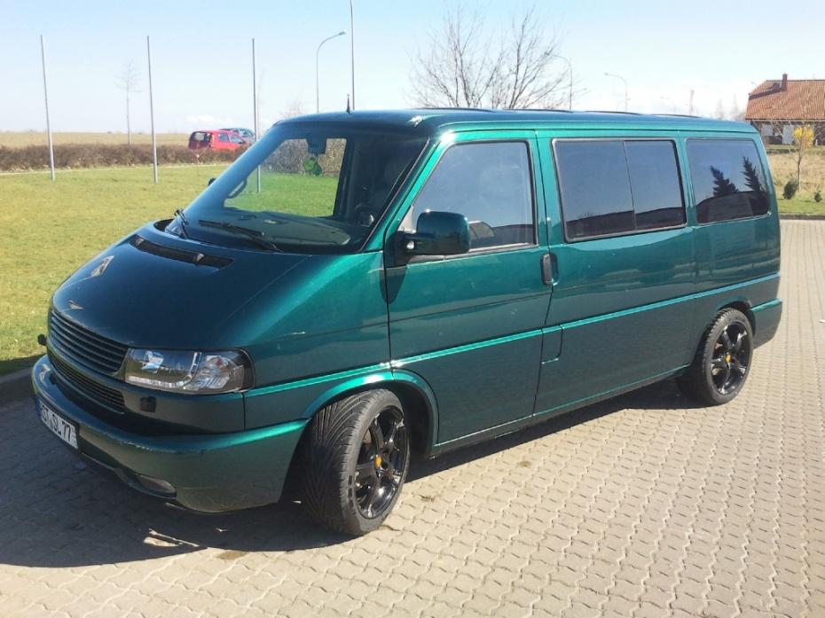 vw transporter t4 bus 2 5 tdi multivan bj 1998 von. Black Bedroom Furniture Sets. Home Design Ideas