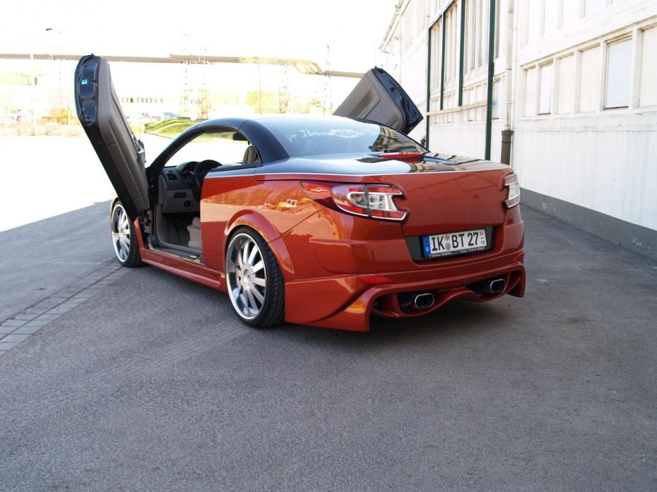 renault megane ii coup cabriolet 2 0 16v turbo bj 2005. Black Bedroom Furniture Sets. Home Design Ideas