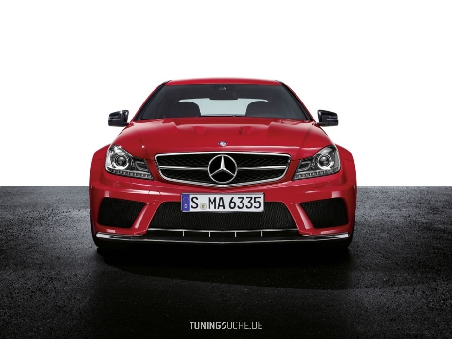 Das neue Mercedes C63 AMG Coupé als Black Series Edition  Bild 654814