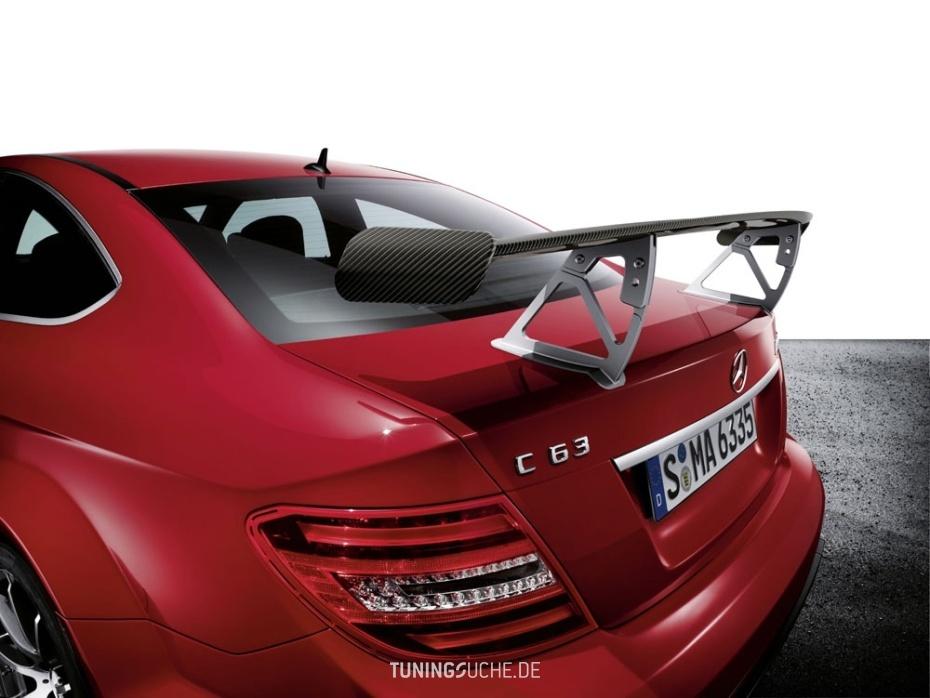 Das neue Mercedes C63 AMG Coupé als Black Series Edition  Bild 654815
