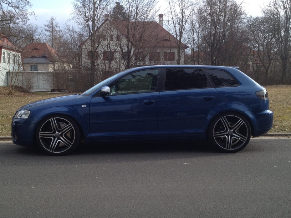 audi a3 sportback cool blue 3 2 v6 quattro ambition. Black Bedroom Furniture Sets. Home Design Ideas
