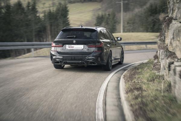 KW Gewindefahrwerke: Fahrwerkslösungen jetzt für BMW 3er (G21) Touring mit xDrive erhältlich: © KW automotive (Bild 2)