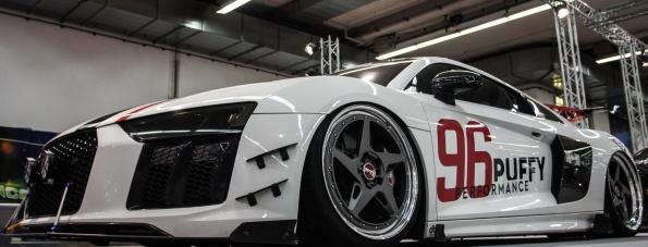 Bestialisch: Audi R8 im GT3-Trimm