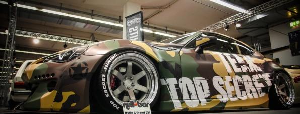 Toyota GT86 im Tarnmodus von Top Secret Tuning