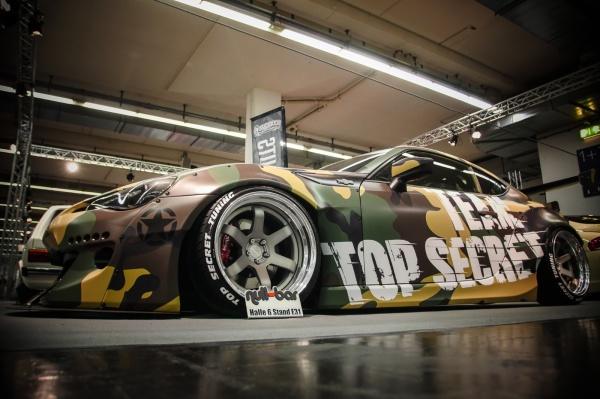 Toyota GT86 im Tarnmodus von Top Secret Tuning:  (Bild 10)