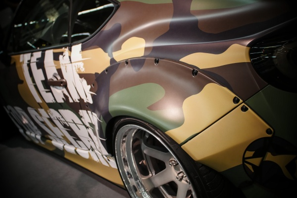 Toyota GT86 im Tarnmodus von Top Secret Tuning: Der Rocket Bunny Kit passt dem GT86 wie angegossen. (Bild 13)