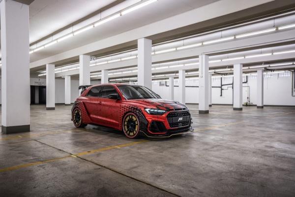 Audi A1 at its best: Daniel Abt präsentiert den A1 1of1:  (Bild 3)