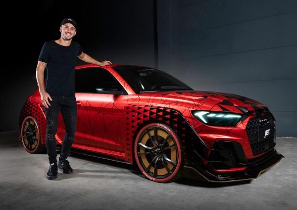 Audi A1 at its best: Daniel Abt präsentiert den A1 1of1:  (Bild 4)