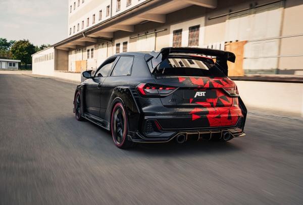 Audi A1 at its best: Daniel Abt präsentiert den A1 1of1:  (Bild 5)