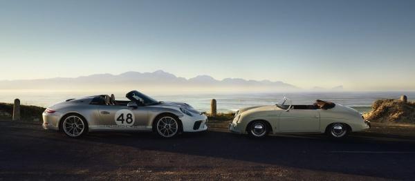 Freiluft-Vergnügen mit 510 PS: Der Porsche Speedster weiß wie's geht:  (Bild 1)