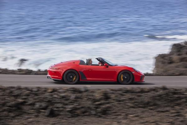 Freiluft-Vergnügen mit 510 PS: Der Porsche Speedster weiß wie's geht:  (Bild 3)