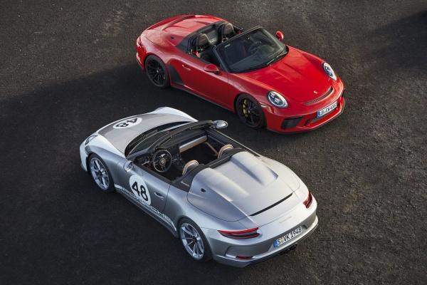 """Freiluft-Vergnügen mit 510 PS: Der Porsche Speedster weiß wie's geht: Die Unterschiede zwischen dem """"normalen"""" Speedster und dem Heritage Design sind auf den ersten Blick klar erkennbar. (Bild 4)"""