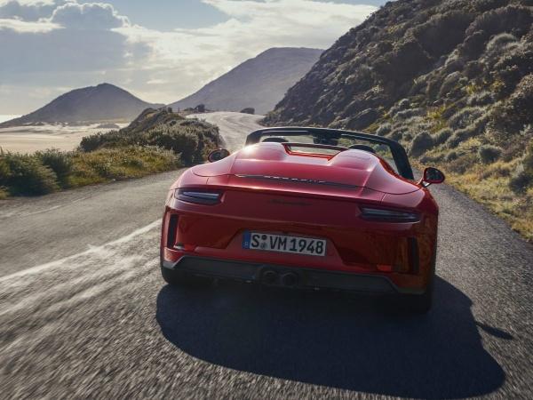 Freiluft-Vergnügen mit 510 PS: Der Porsche Speedster weiß wie's geht:  (Bild 5)