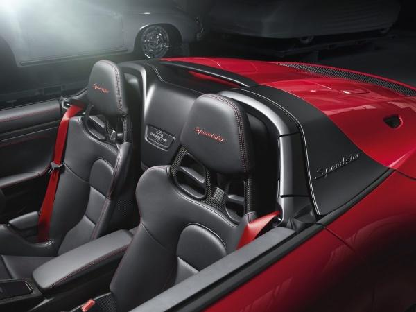 Freiluft-Vergnügen mit 510 PS: Der Porsche Speedster weiß wie's geht:  (Bild 6)