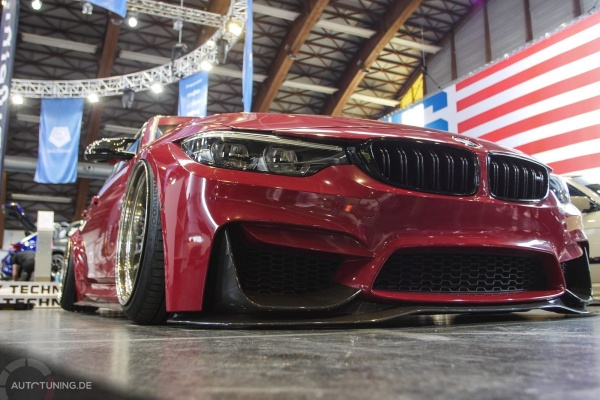 Bagged Monster Wagen: BMW M3:  (Bild 2)