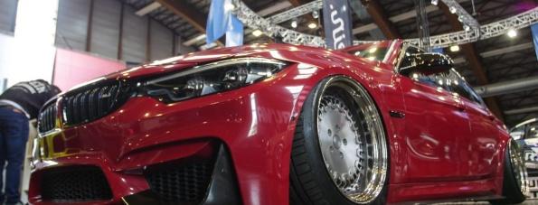 Bagged Monster Wagen: BMW M3