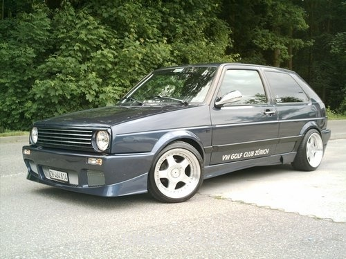 VW GOLF II (19E, 1G1) 1.8 GTI G60 Golf 2 Wolfsburg Limited Edition Bild 74996