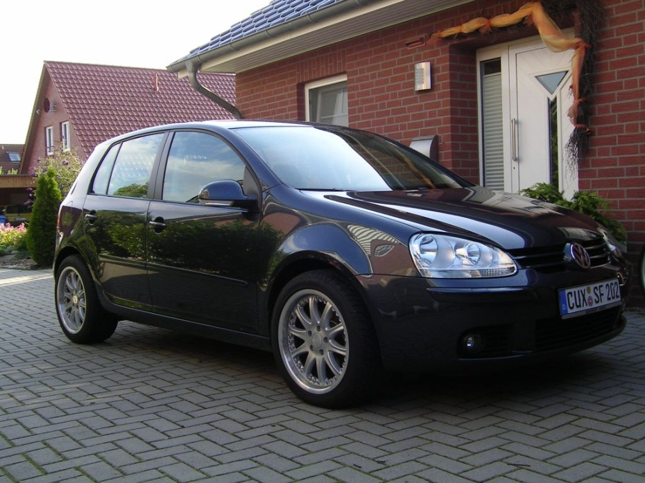vw golf v 1 6 golf v goal bj 2006 von osterbrucher. Black Bedroom Furniture Sets. Home Design Ideas
