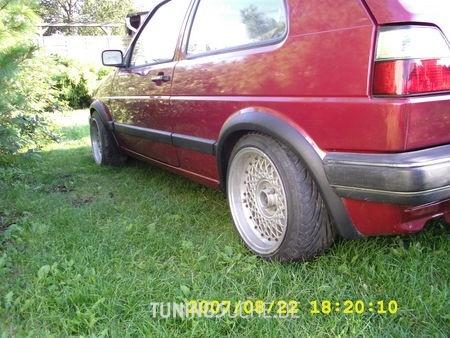 VW GOLF II (19E, 1G1) 1.8  Bild 95267