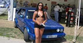 Car Babes da VW, Girls, ...  Bild 118452