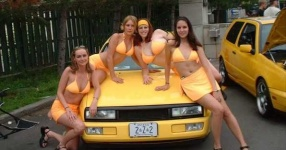 Car Babes da VW, Girls, ...  Bild 118465