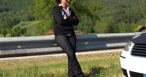 Wörtherseetour 2008 Bayernfraktion  Rund um den Wörthersee bwz auf der Fahrt von uns daheim an den See..  Rich Bitch, Seetour, Schocki, Vaater,l Wörthersee 2008  Bild 121654