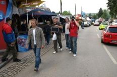 Wörtherseetour 2008 Bayernfraktion  Rund um den Wörthersee bwz auf der Fahrt von uns daheim an den See..  Rich Bitch, Seetour, Schocki, Vaater,l Wörthersee 2008  Bild 122094