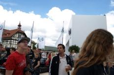 Wörtherseetour 2008 Bayernfraktion  Rund um den Wörthersee bwz auf der Fahrt von uns daheim an den See..  Rich Bitch, Seetour, Schocki, Vaater,l Wörthersee 2008  Bild 122137