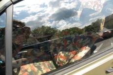 Wörtherseetour 2008 Bayernfraktion  Rund um den Wörthersee bwz auf der Fahrt von uns daheim an den See..  Rich Bitch, Seetour, Schocki, Vaater,l Wörthersee 2008  Bild 122365