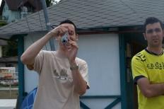 Wörtherseetour 2008 Bayernfraktion  Rund um den Wörthersee bwz auf der Fahrt von uns daheim an den See..  Rich Bitch, Seetour, Schocki, Vaater,l Wörthersee 2008  Bild 122408