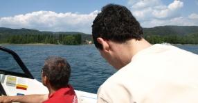 Wörtherseetour 2008 Bayernfraktion  Rund um den Wörthersee bwz auf der Fahrt von uns daheim an den See..  Rich Bitch, Seetour, Schocki, Vaater,l Wörthersee 2008  Bild 122437