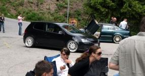Wörtherseetour 2008 Bayernfraktion  Rund um den Wörthersee bwz auf der Fahrt von uns daheim an den See..  Rich Bitch, Seetour, Schocki, Vaater,l Wörthersee 2008  Bild 122986