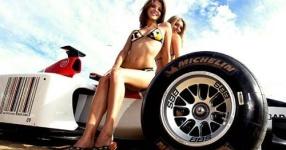 Car-Girls hir und da Frauen, autos,   Bild 156996