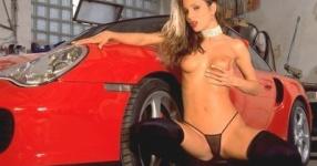 Car-Girls hir und da Frauen, autos,   Bild 157029