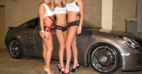 Car-Girls hir und da Frauen, autos,   Bild 157038