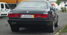 BMW E32 750i V12 5.0 320PS  BMW E32 750i V12 5000ccm 320 PS  Bild 162136