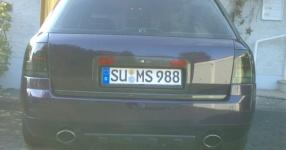 Mein Audi A6 Avant 2,7 Bi_Turbo Hier und da Tuning A6 Allroad Heck TFL schwarze Rückleuchten  Bild 357607