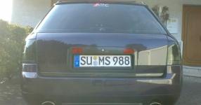 Mein Audi A6 Avant 2,7 Bi_Turbo Hier und da Tuning A6 Allroad Heck TFL schwarze Rückleuchten  Bild 357609